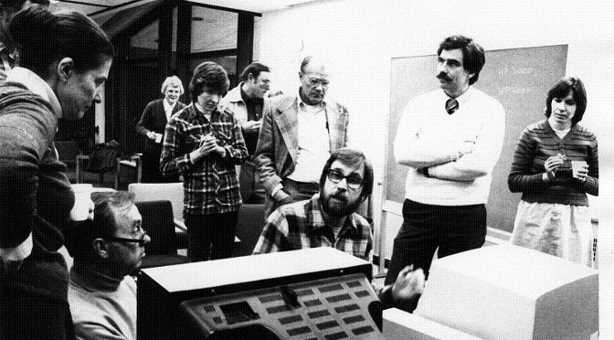Computers at Luther 1983 – Luther College Photos – CC BY-NC-SA - rt2